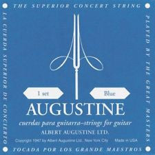 Augustine classical guitar strings high tension blue pack
