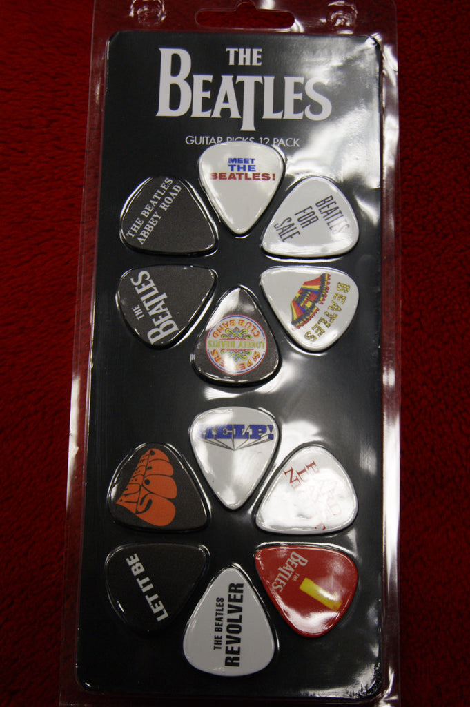 The Beatles pick pack x 12 by Perris