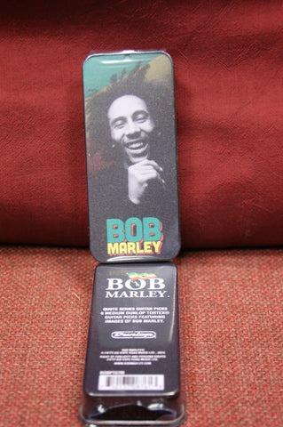 Bob Marley Dunlop pick gift tin - BOBPT07M Quote Series