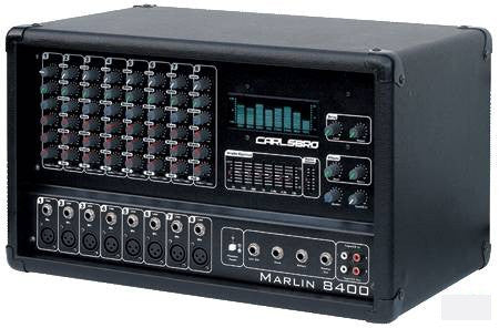 Carlsbro Marlin 8400dsp powered PA mixer