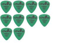 Pack of 10 plectrums .85mm thickness by Chord