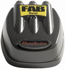 Danelectro D-3 Fab Metal distortion pedal for electric guitar