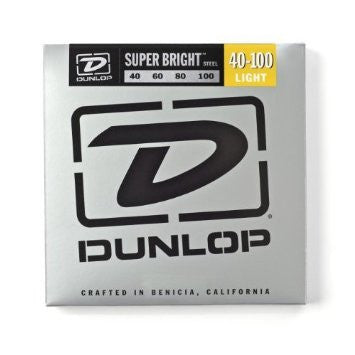 Dunlop DBSBS40100 super bright stainless steel 40-100 light bass guitar strings