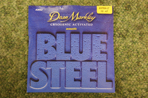 Dean Markley 2032 Blue Steel 10-47 bronze acoustic guitar strings