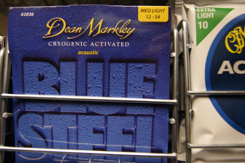 Dean Markley 2036 Blue Steel 12-54 bronze acoustic guitar strings