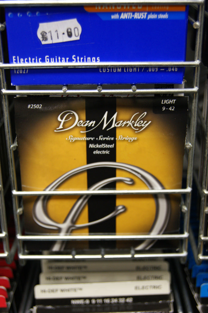 Dean Markley 2502 Signature Series 9-42 light electric guitar strings
