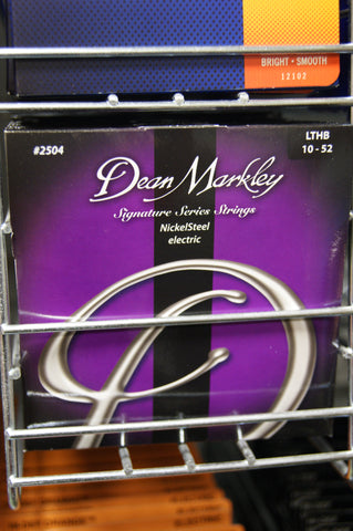 Dean Markley 2504 Signature Series LTHB 10-52 electric guitar strings (3 PACKS)
