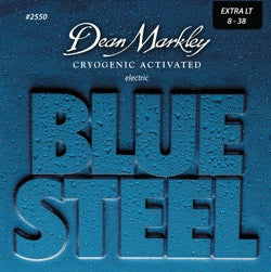 Dean Markley 2550 Blue Steel 8-38 electric guitar strings (3 PACKS)