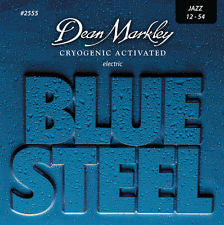 Dean Markley 2555 Blue Steel 12-54 electric guitar strings (3 PACKS)