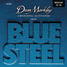 Dean Markley 2556 Blue Steel 10-46 electric guitar strings (2 PACKS)