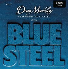 Dean Markley 2557 Blue Steel 13-56 electric guitar strings