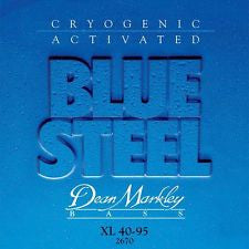 Dean Markley 2670 Blue Steel XL 40-95 extra light bass guitar strings