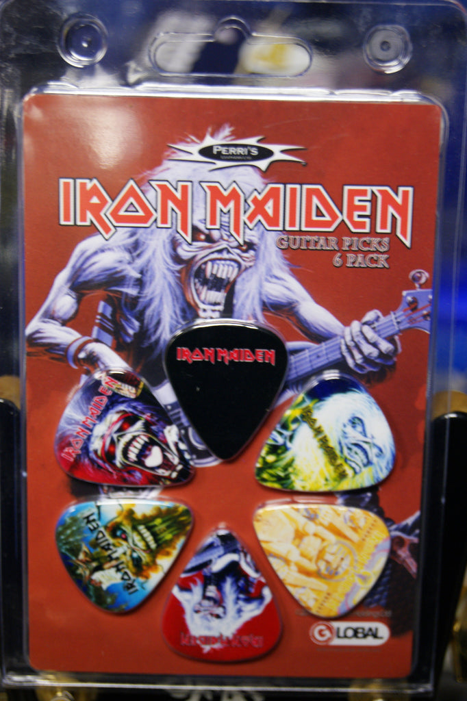 Iron Maiden picks - INM2 pack of 6 by Perri's