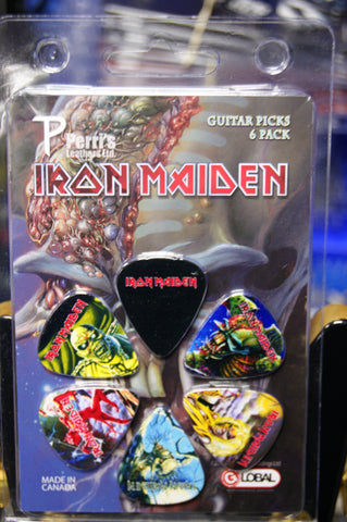 Iron Maiden Picks - INM1 pack of 6 by Perris