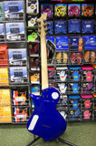 Fernandes Ravelle X electric guitar in metallic blue
