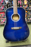 Ashland SD80 (By Crafter) steel acoustic dreadnought guitar in marineburst