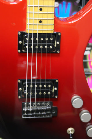 quest atak 2 electric guitar from 1984 with hard case japan stargoat guitars. Black Bedroom Furniture Sets. Home Design Ideas