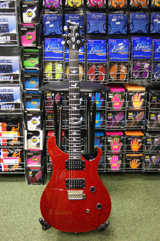 PRS SE Orianthi electric guitar in red sparkle finish S/H