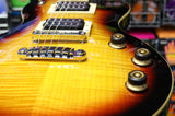 Ibanez ARZ200FM electric guitar in flamed tobacco sunburst with DiMarzio / Schaller upgrades S/H