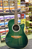 Ovation CC024 electro mid bowl acoustic guitar - Made in Korea S/H