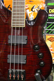 Schecter Diamond Series 004 Elite bass guitar in black cherry Made in Korea S/H