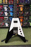 Pete Back Custom Flying Vee bass guitar S/H