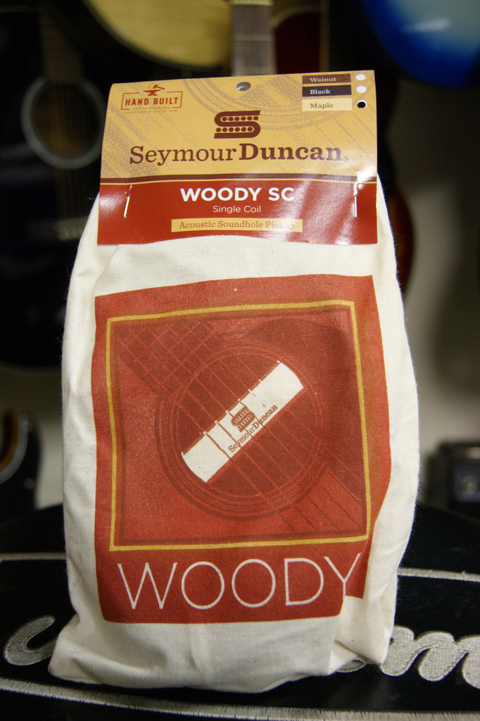 Seymour Duncan Woody SC acoustic guitar soundhole pickup maple finish