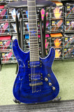 Schecter Diamond Series C-1 Exotic Star in blue (Made in Korea) S/H