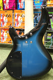 Aria IGB Standard bass guitar in metallic blue shade
