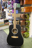 Art & Lutherie Cedar dreadnought acoustic guitar - made in Canada S/H