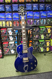 De Armand M75 LP style electric guitar in electric blue - Made in Korea S/H