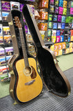 Takamine EF340S TT electro acoustic guitar with hard case