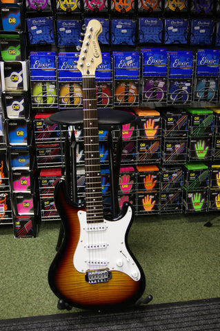 Crafter County H stratocaster style electric guitar made in Korea