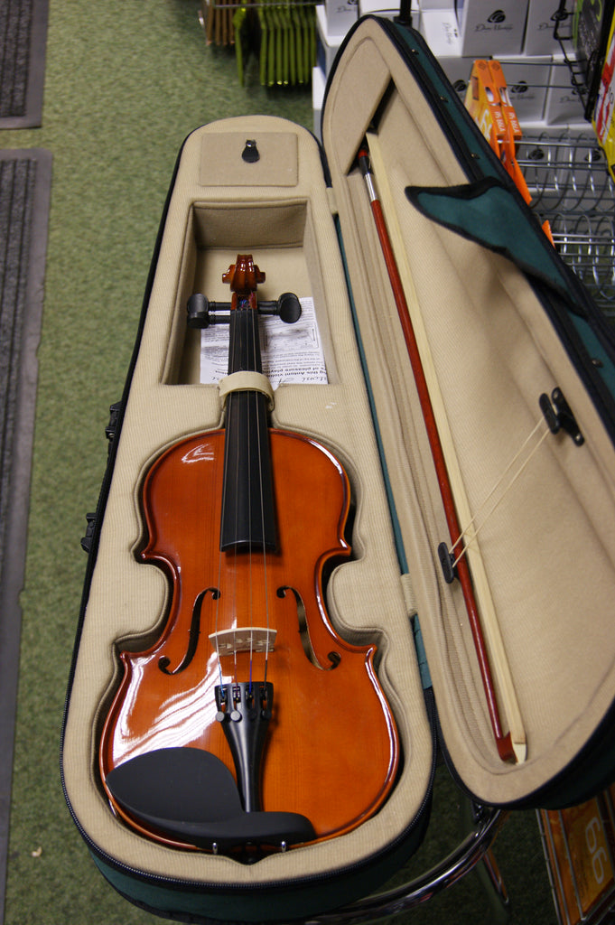 Antoni ACV31 violin outit 3/4 size with bow rosin & case