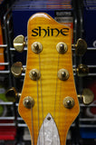 Shine electric guitar with Grover tuners -Made in Korea S/H