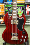 Epiphone EB-3 SG Bass guitar in cherry red finish S/H