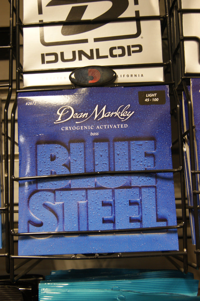 Dean Markley 2672 Blue Steel 45-100 light bass guitar strings