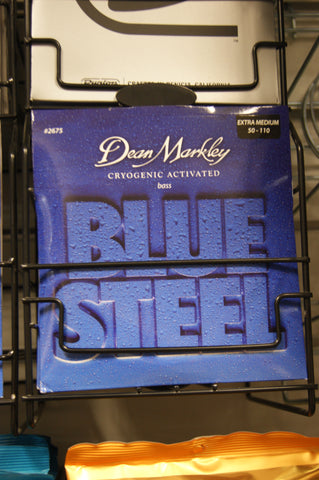 Dean Markley 2675 Blue Steel 50-110 extra-medium gauge  bass guitar strings