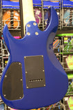 Cruiser CJ400 electric guitar in metallic dark blue
