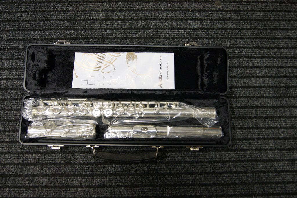 Amati silver plated flute with hard case - European made