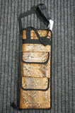 Drum stick bag in snakeskin by Rosetti