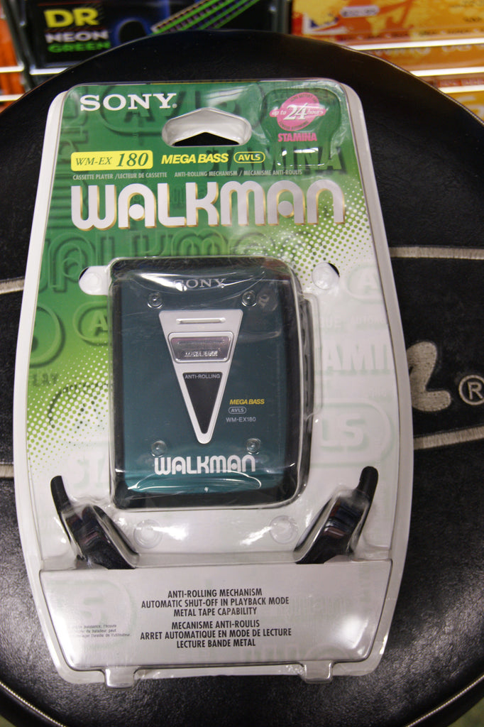 Sony Walkman WM-EX180 cassette Ltd edition green model