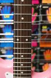 Cruiser ST-200 electric guitar in pretty pink by Crafter