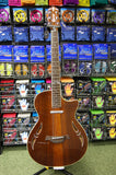 Crafter SA Series semi electro acoustic guitar in Andean rosewood finish