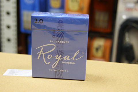 Rico Royal 2 Bb clarinet reeds (Box of 10)