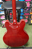 Vintage VSA535CR semi acoustic guitar S/H