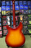 Indie IRK5 semi acoustic guitar in fireglow finish S/H