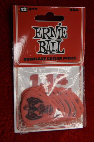 Ernie Ball Everlast 1.14mm delrin guitar picks - pack of 12