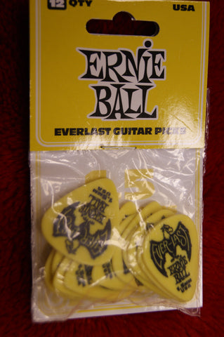 Ernie Ball Everlast 1.5mm delrin guitar picks - pack of 12