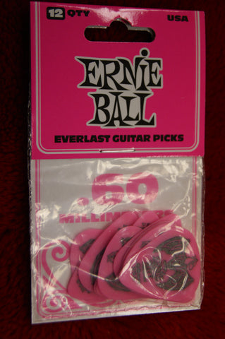 Ernie Ball Everlast .6mm delrin guitar picks - pack of 12